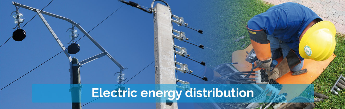 Electric energy distribution